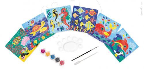 JANOD Mořský svět akvarely v kufříku cena od 449 Kč