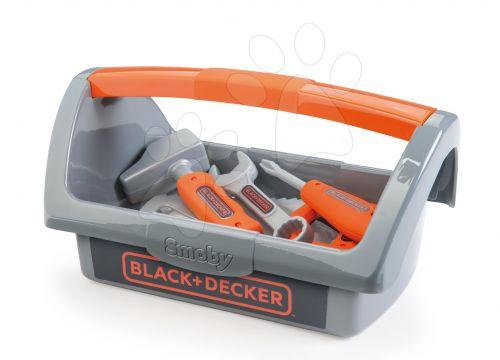 SMOBY Pracovní nářadí BLACK+DECKER v kufříku cena od 399 Kč