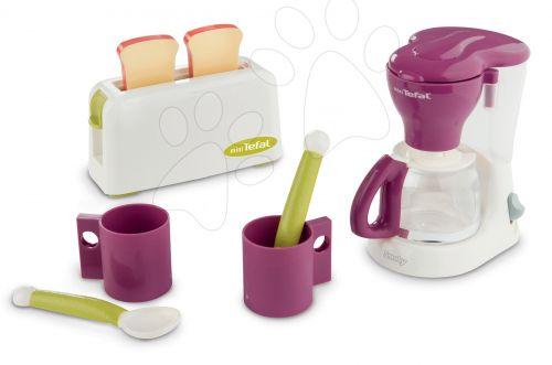 SMOBY Tefal čajový set na snídani s kávovarem a topinkovačem cena od 602 Kč