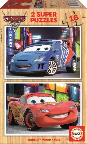 EDUCA Disney Cars II 2x16 dílků