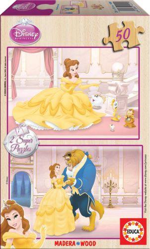 EDUCA Walt Disney Beauty and the Beast 2x25 dílků cena od 199 Kč