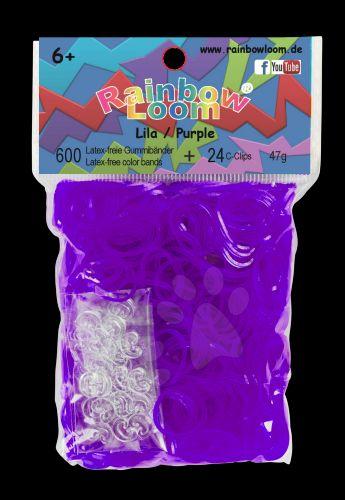 RAINBOW LOOM Original gumičky fialové cena od 139 Kč