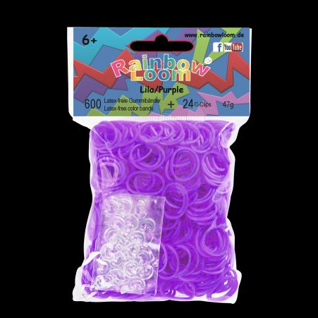 RAINBOW LOOM Originál gumičky fialová cena od 135 Kč