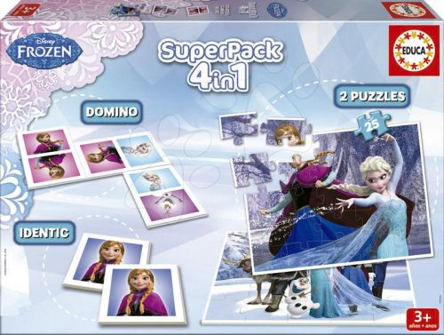 EDUCA SuperPack Frozen 4v1