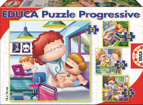 EDUCA Progressive Povolání 25, 20, 16, 12 dílků cena od 150 Kč