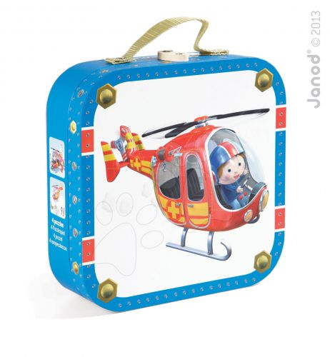JANOD PETER'S HELICOPTER 6-9-12-16 dílků cena od 546 Kč