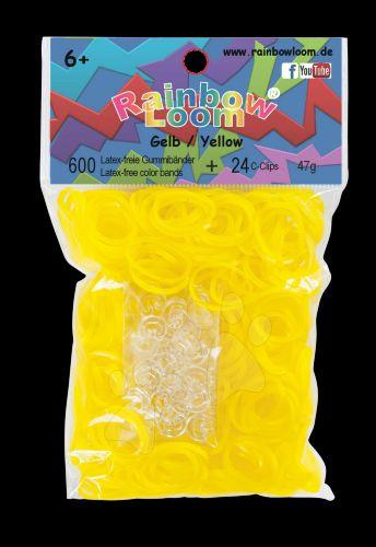RAINBOW LOOM Original gumičky žluté