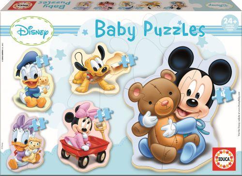EDUCA Baby Mickey 20 dílků cena od 194 Kč
