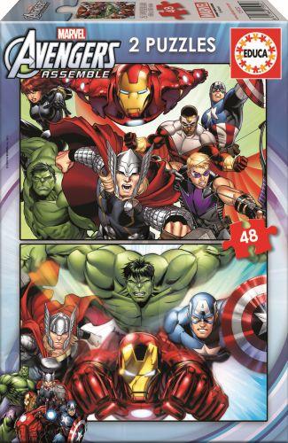 EDUCA Marvel Avengers 2x48 dílků