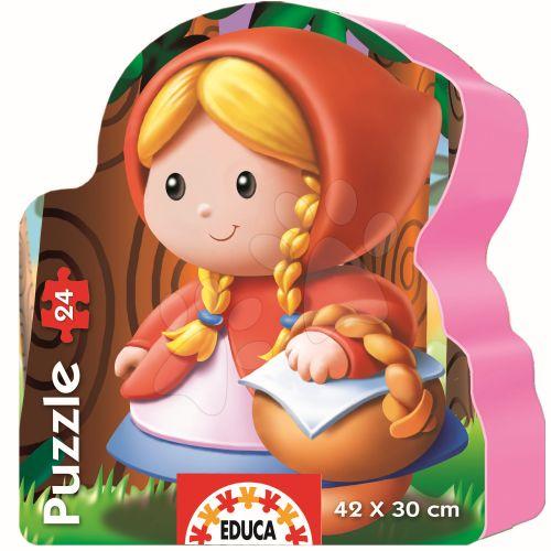 EDUCA Červená karkulka 24 dílků cena od 199 Kč