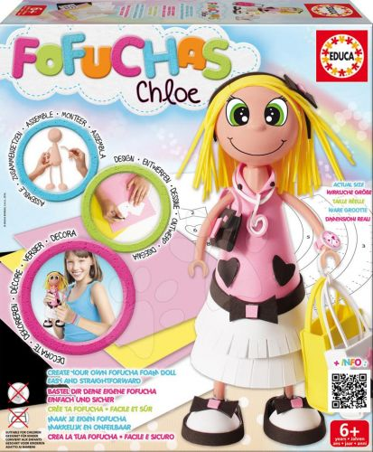 EDUCA Fofuchas Chloe Glamour obleč ji sama