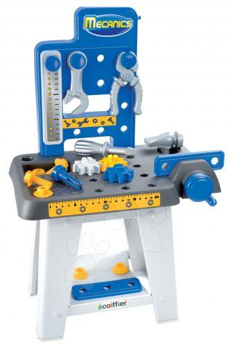 ÉCOIFFIER Pracovní stůl Mecanics s doplňky cena od 475 Kč