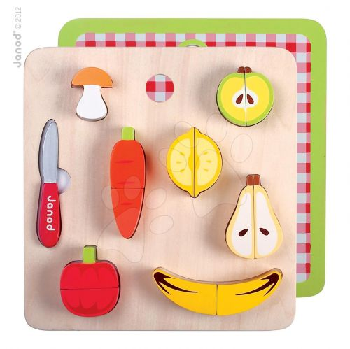 JANOD Dřevěné ovoce&zelenina s nožíkem cena od 589 Kč