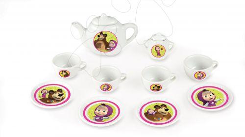 SMOBY Masha porcelánový čajový set