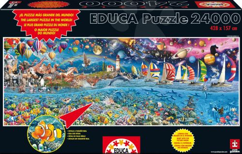 EDUCA Life, the greatest 24 000 dílků