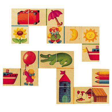 SELECTA Domino s obrázky cena od 556 Kč