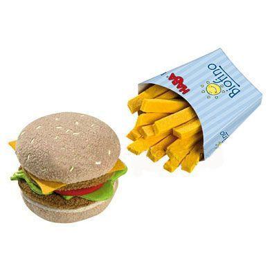 HABA Biofino obchod hamburgr s hranolky cena od 330 Kč