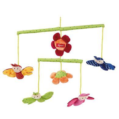 SIGIKID Baby.basics Látkový kolotoc motýlci cena od 687 Kč