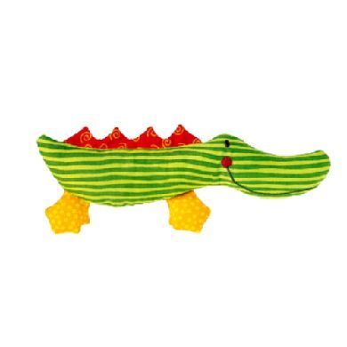SIGIKID Krokodýl s chrastítkem cena od 178 Kč