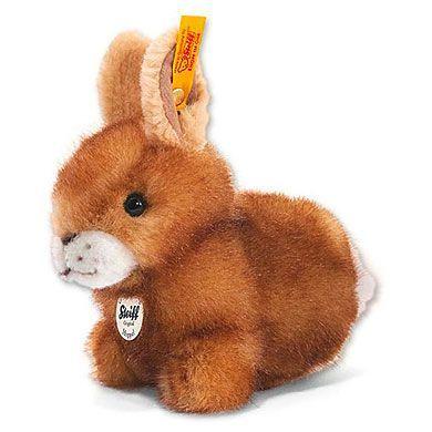 STEIFF Zajíc hnědý sedící 14 cm cena od 634 Kč