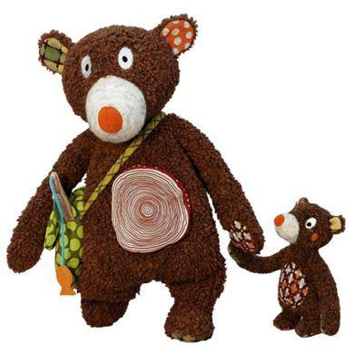 EBULOBO Medvědi lesní táta se synem