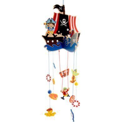 BIECO Kolotoč nad postýlku piráti cena od 444 Kč