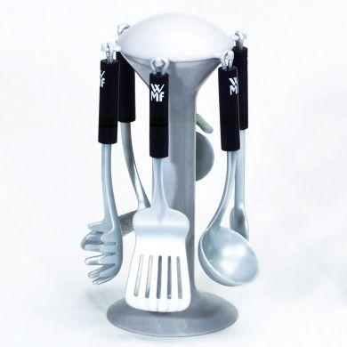 KLEIN WMF Nádobí do dětské kuchyňky na stojánku cena od 0 Kč