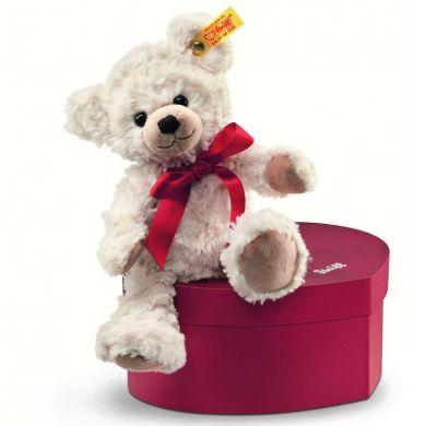STEIFF Medvídek Sweetheart v krabičce ve tvaru srdce 22 cm cena od 0 Kč
