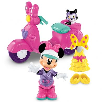 XXL obrazek FISHER PRICE Disney Minnies a motorka