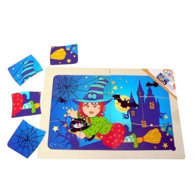 HESS Puzzle čarodějnice 12 dílků cena od 278 Kč