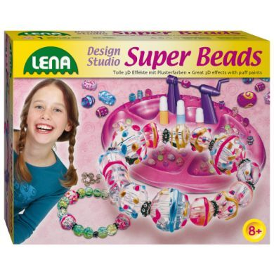 LENA Super Beads korálky na navlékání cena od 0 Kč