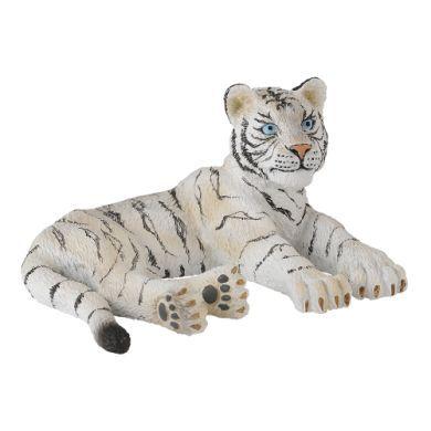CollectA Divoká zvířátka Bílý tygr ležící cena od 60 Kč
