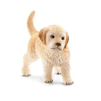 SCHLEICH Zlatý retrívr štěně cena od 70 Kč