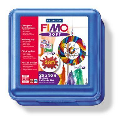 FIMO Školní box s 26 bloky, doplňky a návodem