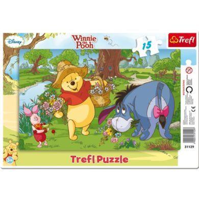 LEGLER Medvídek Pú v rámečku 15 dílů cena od 75 Kč