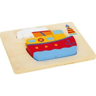 LEGLER Vkládací puzzle lodě cena od 195 Kč