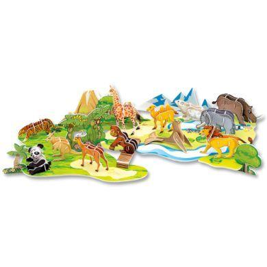 FOLIA 3D-Modellogic Zoo zvířátka