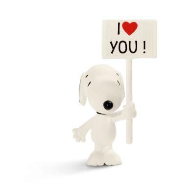 SCHLEICH I Love You! Snoopy cena od 100 Kč