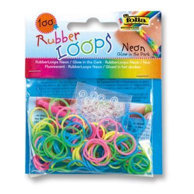 FOLIA Rubber Loops® gumičky neon