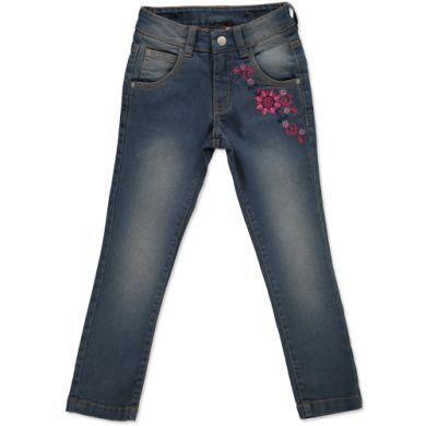 anna & tom Girls Denim Stickerrei kalhoty