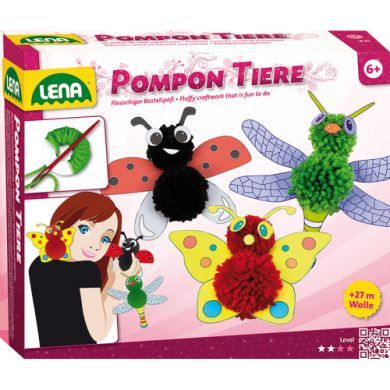 LENA Pompon zvířátka cena od 115 Kč