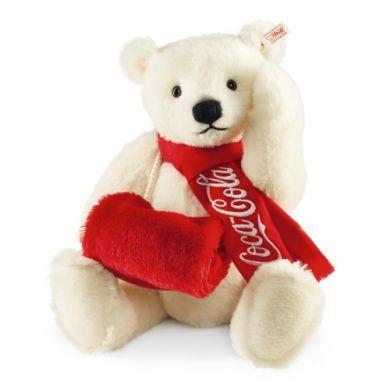 STEIFF Coca-Cola Lední medvěd 38 cm cena od 5532 Kč