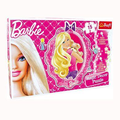 LEGLER Barbie puzzle 15 dílů cena od 225 Kč
