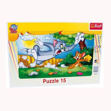 LEGLER Tom & Jerry Puzzle v rámečku 15 dílů cena od 100 Kč