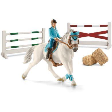 SCHLEICH Set turnajový včetně koně a jezdce cena od 440 Kč