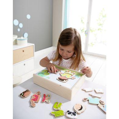 HABA Dřevěné puzzle děti světa