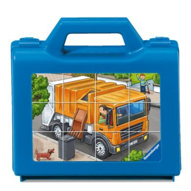 RAVENSBURGER Kostkové puzzle vozidla