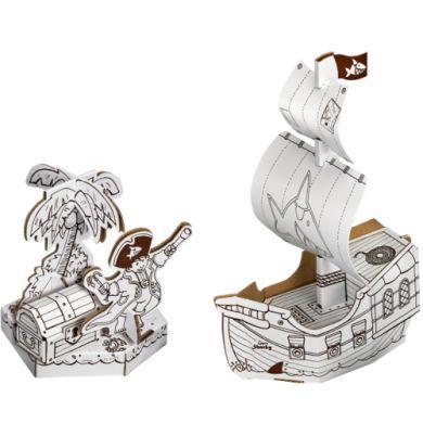 Coppenrath Verlag Pirátská loď na sestavení Capt'n Sharky cena od 0 Kč
