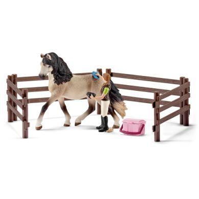 SCHLEICH Pečující sada Andalusský kůň