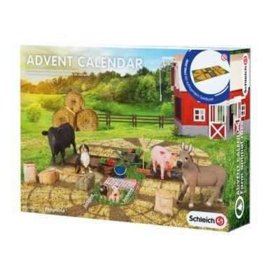 SCHLEICH Adventní kalendář farma cena od 700 Kč